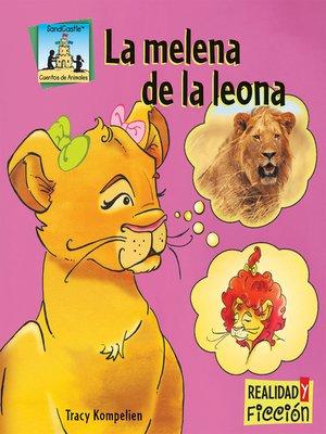 cover image of La melena de la leona