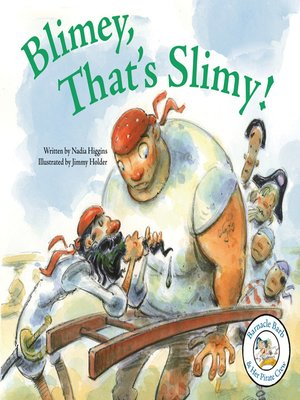 cover image of Blimey, That's Slimy