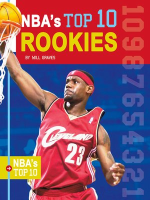 cover image of NBA's Top 10 Rookies