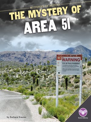 cover image of Mystery of Area 51