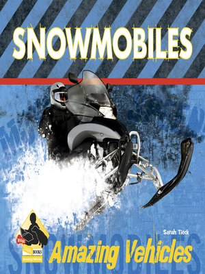 cover image of Snowmobiles