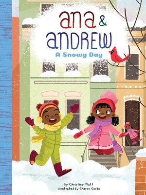 cover image of A Snowy Day