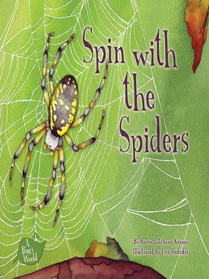 cover image of Spin with the Spiders