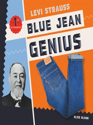 cover image of Levi Strauss: Blue Jean Genius
