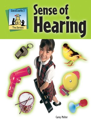 cover image of Sense of Hearing