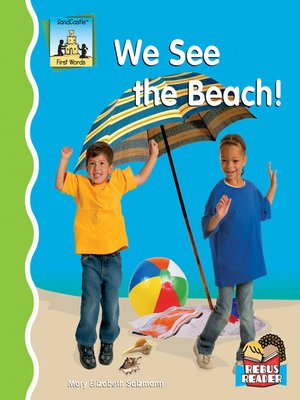 cover image of We See the Beach!