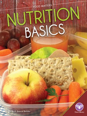 cover image of Nutrition Basics
