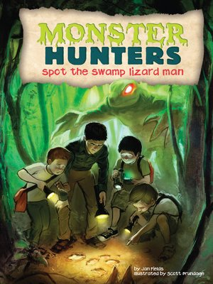 cover image of Spot the Swamp Lizard Man