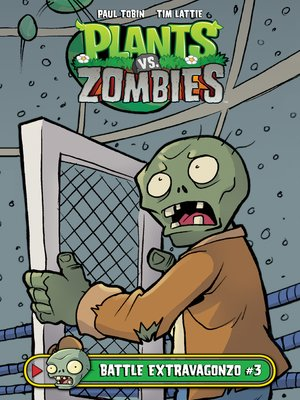 cover image of Plants vs. Zombies: Battle Extravagonzo (2017), Issue 3