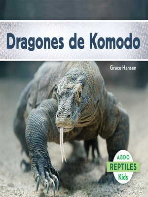 cover image of Dragones de Komodo