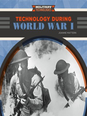 cover image of Technology During World War I