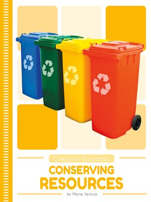 cover image of Conserving Resources