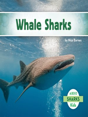 cover image of Whale Sharks