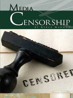 cover image of Media Censorship