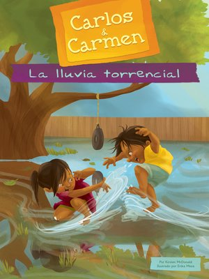 cover image of La lluvia torrencial (The Big Rain)