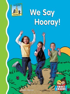 cover image of We Say Hooray!