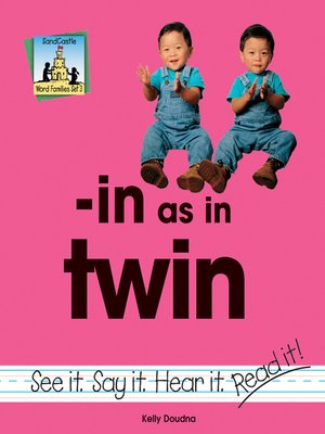cover image of in as in twin