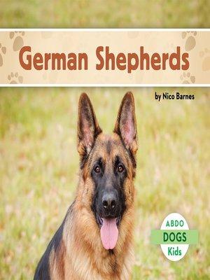 cover image of German Shepherds