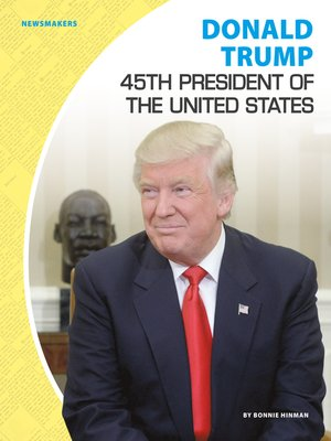 cover image of Donald Trump: 45th President of the United States