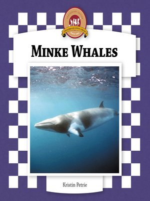 cover image of Minke Whales