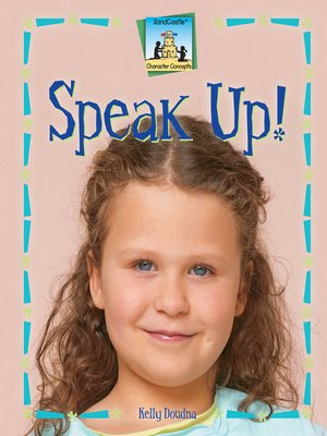 cover image of Speak Up