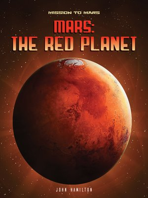 cover image of Mars: The Red Planet