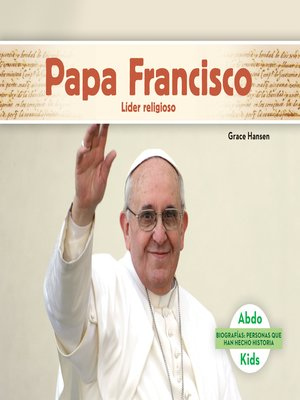 cover image of Papa Francisco: Líder religioso (Pope Francis: Religious Leader)