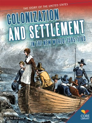 cover image of Colonization and Settlement in the New World