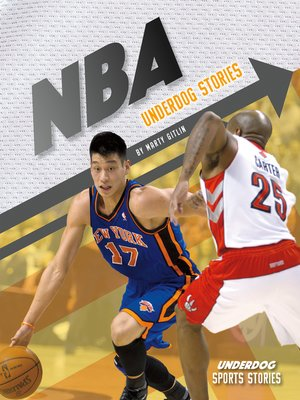 cover image of NBA Underdog Stories