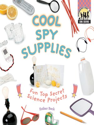 cover image of Cool Spy Supplies