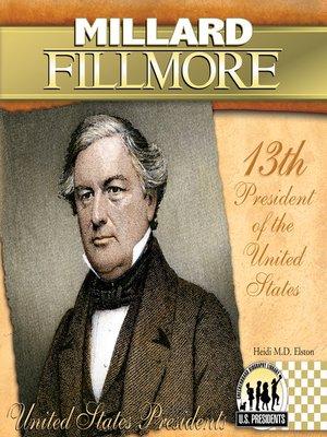 cover image of Millard Fillmore