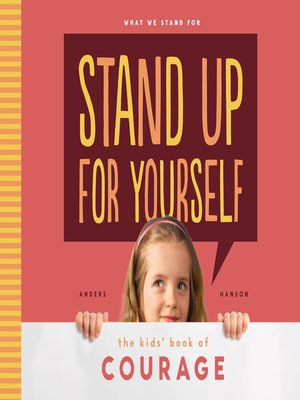 cover image of Stand Up for Yourself