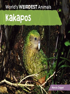 cover image of Kakapos
