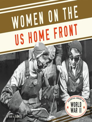cover image of Women on the US Home Front