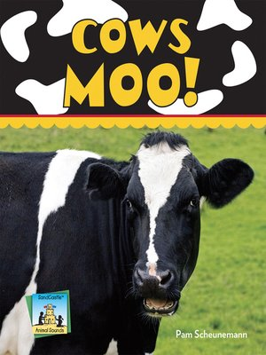 cover image of Cows Moo!