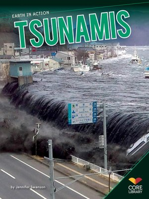 cover image of Tsunamis