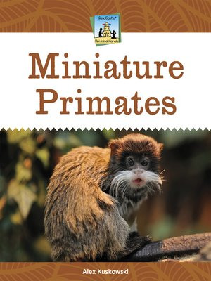 cover image of Miniature Primates