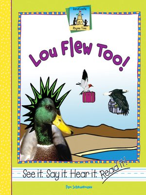 cover image of Lou Flew Too!
