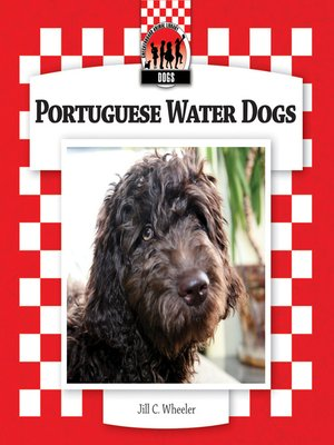 cover image of Portuguese Water Dogs
