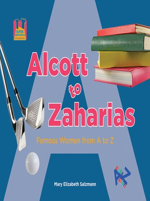 cover image of Alcott to Zaharias