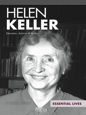 cover image of Helen Keller: Educator, Activist & Author