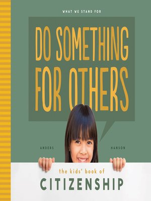 cover image of Do Something for Others