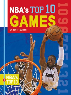 cover image of NBA's Top 10 Games