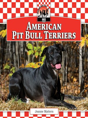 cover image of American Pit Bull Terriers