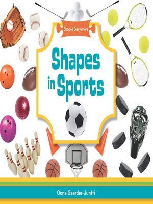 cover image of Shapes in Sports