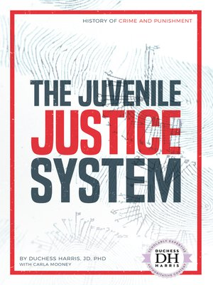 cover image of The Juvenile Justice System