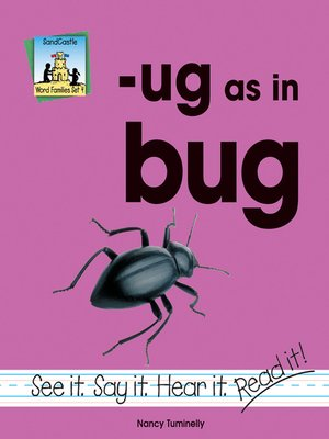 cover image of ug as in bug