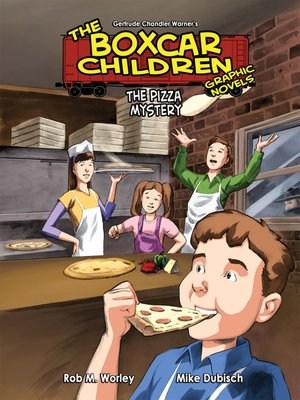 cover image of Pizza Mystery