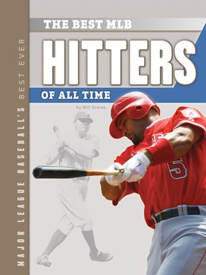 cover image of Best MLB Hitters of All Time