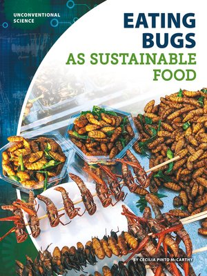 cover image of Eating Bugs as Sustainable Food